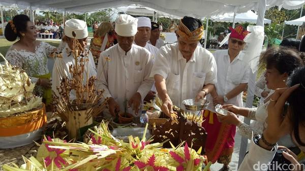 Ke depan, Patung GWK diharapkan dapat dinikmati oleh seluruh lapisan masyarakat sebagai salah satu ikon budaya dunia setelah Candi Borobudur dan Prambanan (Nandhang Astika/detikTravel)