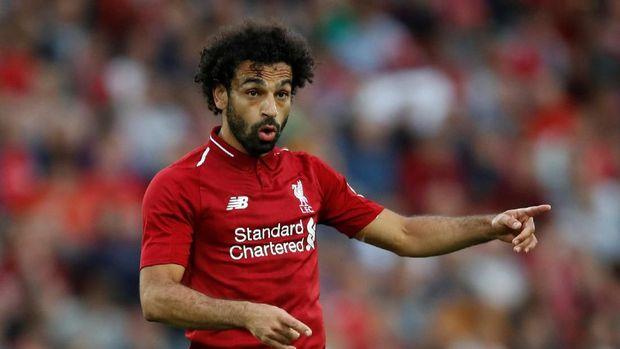 Xherdan Shaqiri bisa jadi pelapis Mohamed Salah, Sadio Mane, dan Roberto Firmino.