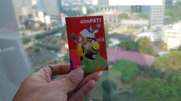 Telkomsel merilis kartu perdana edisi khusus Asian Games 2018.