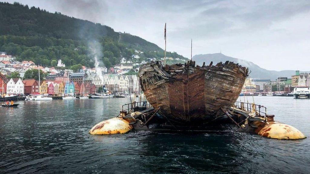 100 Tahun di Lautan Es, Kapal Penjelajah Norwegia Akhirnya Kembali