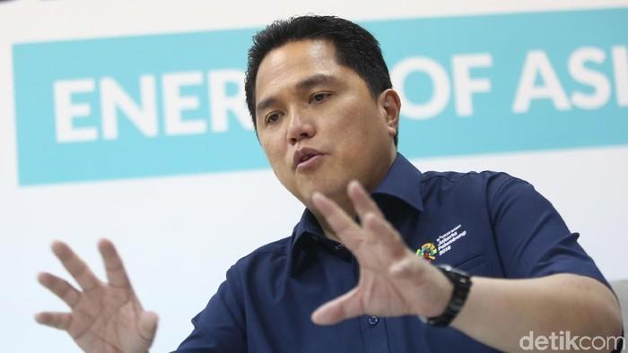 Ketua Inasgoc Erick Thohir