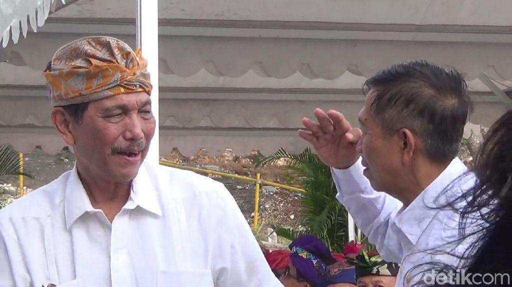 Luhut: September, Kapal Besar Sudah Bisa Sandar di Bali