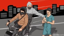 Komplotan Jambret yang Rampas HP Bocah di Makassar Dibekuk