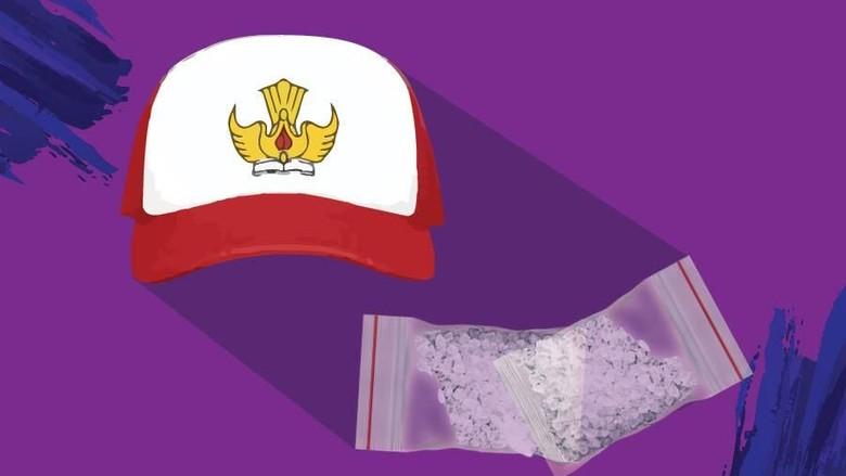 Siswa SD Bandar Sabu di Makassar Akhirnya Menyerahkan Diri