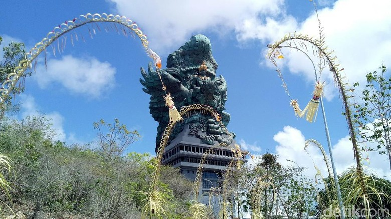 Manfaat Saat Ajak Anak ke Garuda Wisnu Kencana Cultural Park/ Foto: (Nandhang/detikTravel))