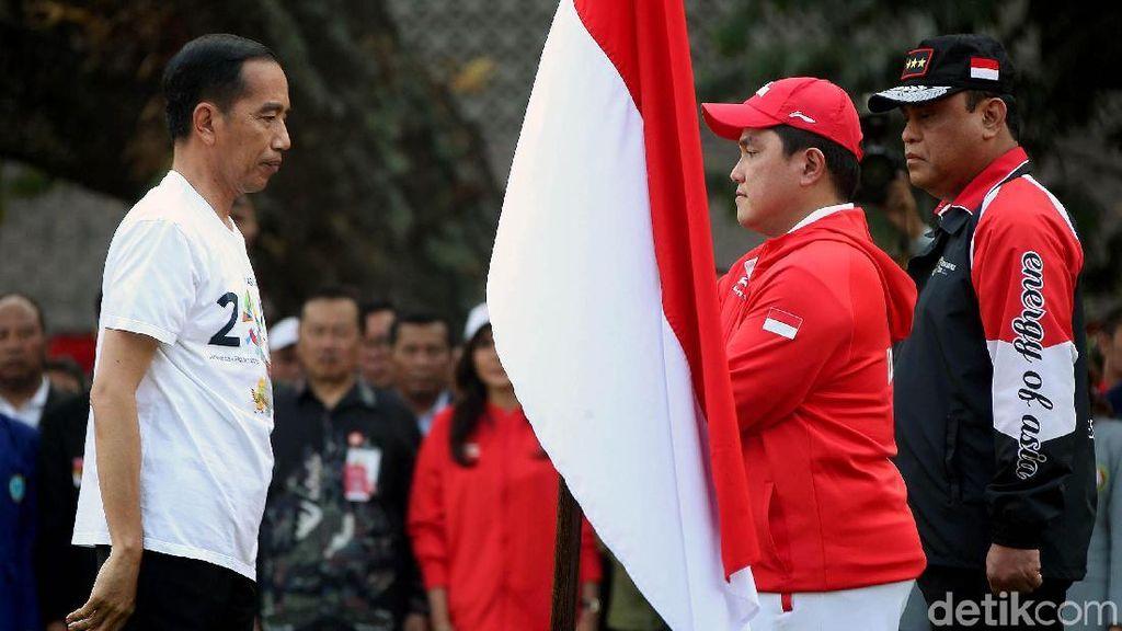 Presiden Jokowi Lepas Kontingen Asian Games 2018