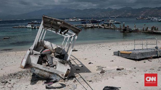 Terperangkap Gempa di Gili Trawangan