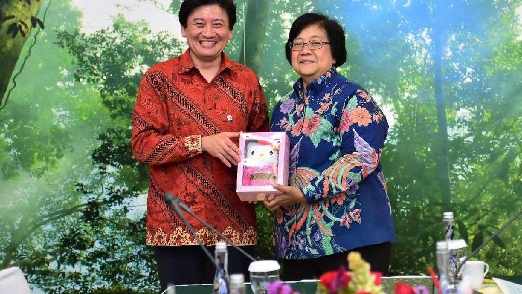 Indonesia-Jepang Jalin Kerja Sama Lingkungan Hidup dan Kehutanan