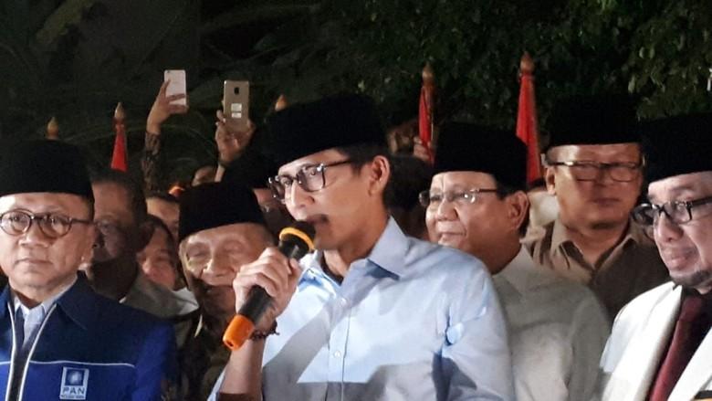Cawapres Sandiaga: Mohon Doa Restu Hadirkan Pemerintahan Bersih