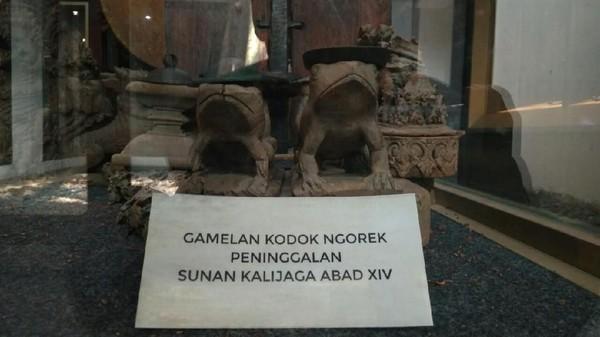 Alat musik yang dibikin Sunan Kalijaga itu bernama Gamelan Kodok Ngorek (Sudirman Wamad/detikTravel)