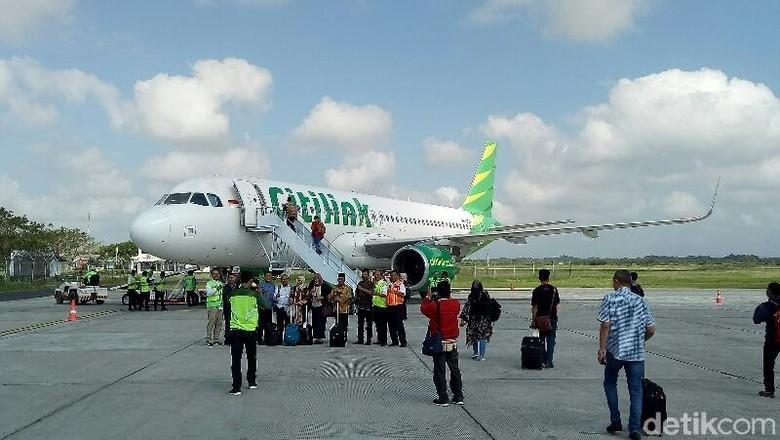 Ilustrasi maskapai Citilink di Bandara Banyuwangi (Ardian Fanani/detikTravel)