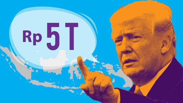 Trump Gugat RI Rp 5 T