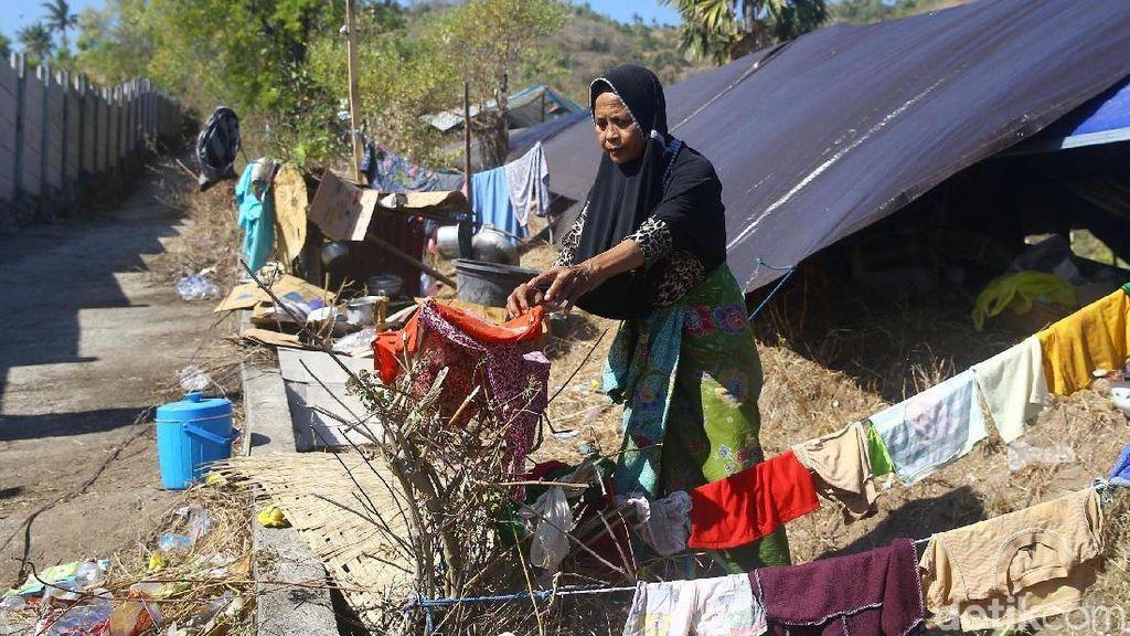 Gempa 6,2 SR Kembali Guncang Lombok, Warga Trauma Pilih Tidur di Lapangan