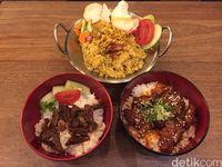 Sleepless Owls: Sedapnya Rice Bowl Sapi Krengsengan dan Nasi Goreng Betutu