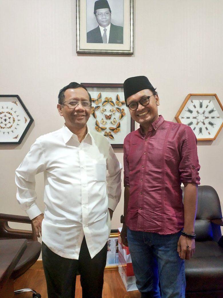 Mahfud Md Batal Jadi Cawapres Jokowi