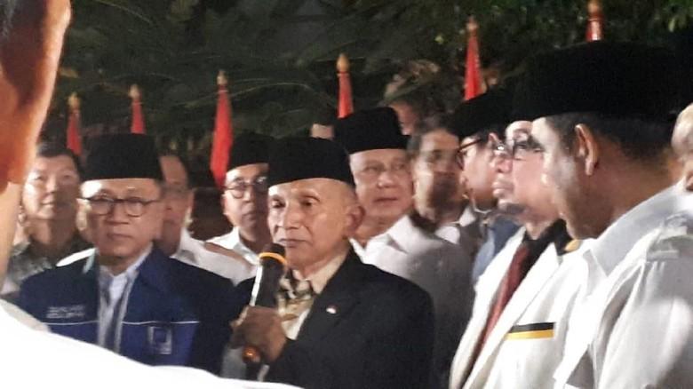 Amien Rais Puji Prabowo-Sandi: Kita Perlu Ganti Pemimpin Nasional