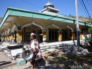 Terungkap! Dana Rehab Terdampak Gempa NTB yang Dipalak dari 13 Masjid