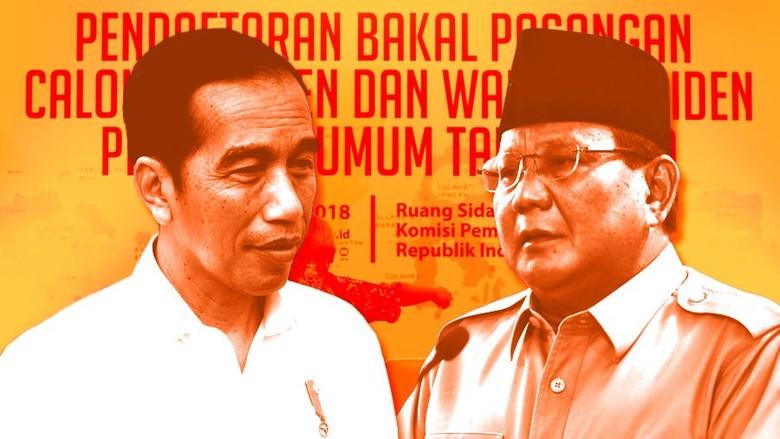 Ini Tahapan yang Bakal Dijalani Jokowi-Maruf dan Prabowo-Sandi