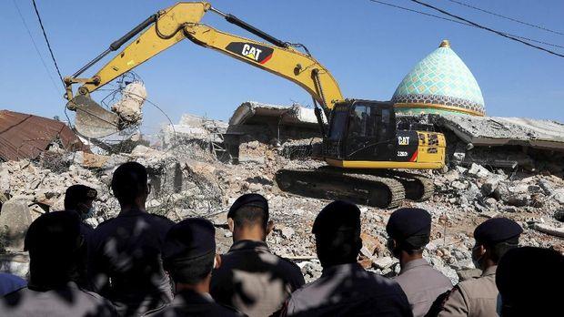 Gempa 7 SR Lombok Tidak Ditetapkan Jadi Bencana Nasional