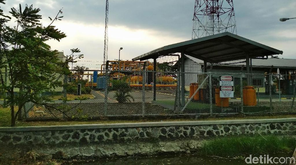 Mengintip Stasiun Penerima Gas Alam ORF Porong Sidoarjo