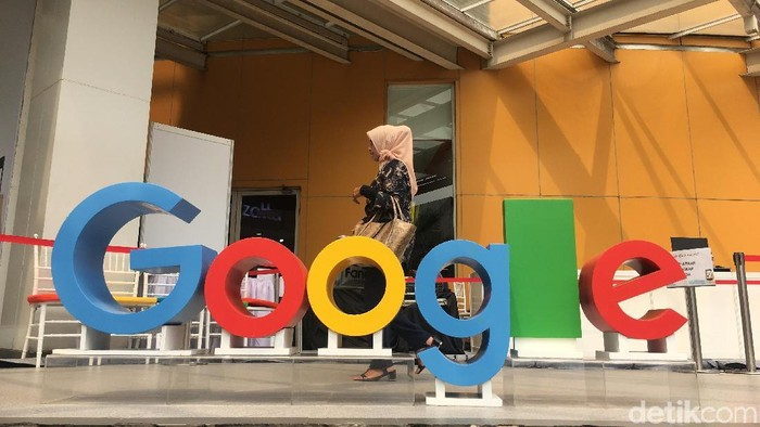 Logo Google. Foto: detikINET/Agus Tri Haryanto