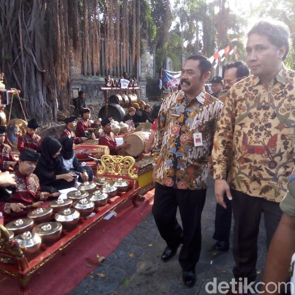 City Walk Solo Sepanjang 2 Kilometer Disulap Jadi Panggung Gamelan
