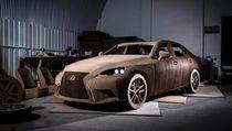 Percaya Enggak, Lexus Ini Terbuat dari Kardus