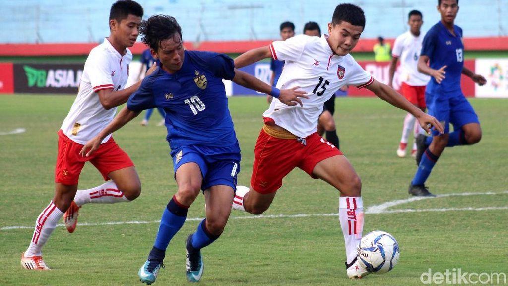 Kalahkan Myanmar, Thailand ke Final Piala AFF U-16