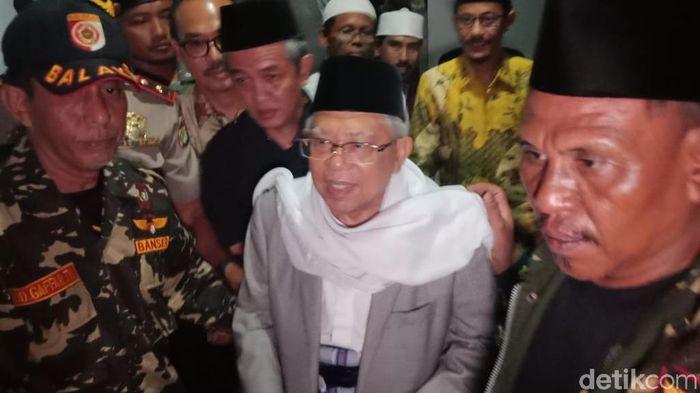 KH Maruf Amin (Foto: Eva-detikcom)