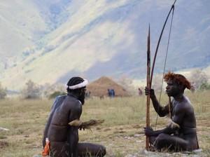 Saat Turis Kagumi Festival Lembah Baliem Papua