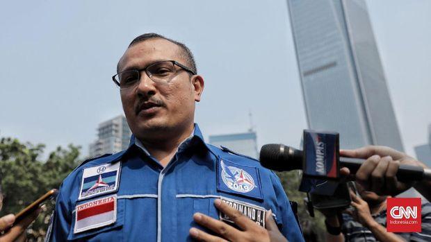 Demokrat: Perusak Bendera Pesan Lantai di Hotel SBY Menginap