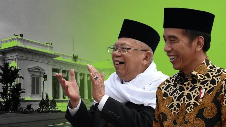 Ternyata, Awalnya Maruf Cuma Ditawari Cawapres Alternatif Jokowi