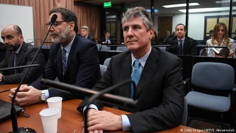 Korupsi, Mantan Wapres Argentina Dipenjara 5 Tahun 10 Bulan