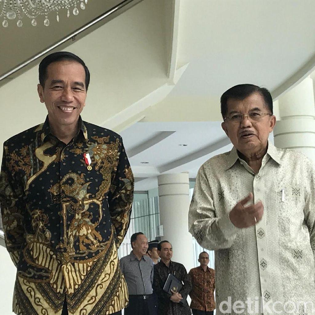 4 Tahun Jokowi-JK yang Tak Sepi dari Gaduh