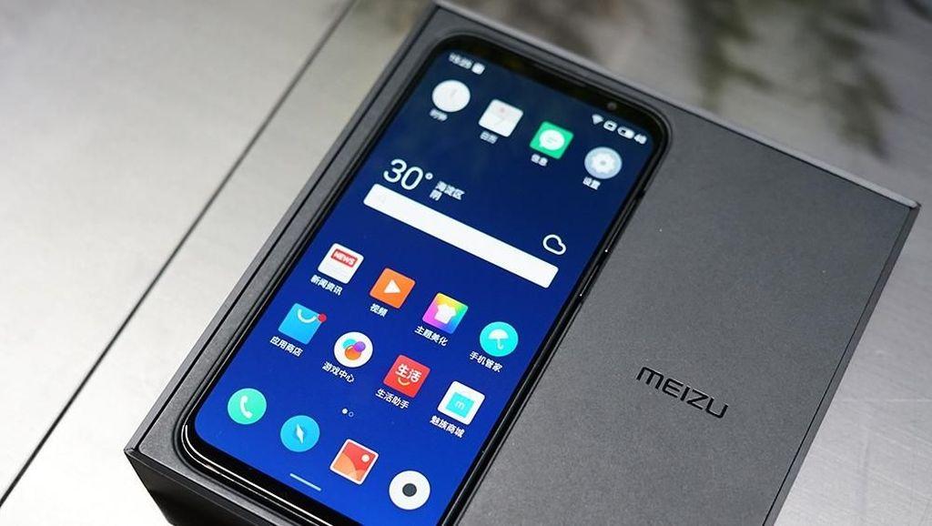 Penampakan Meizu 16, Ponsel Snapdragon 845 Termurah