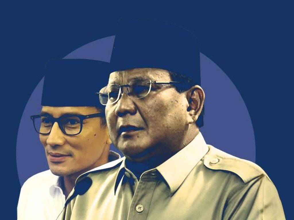 Fokus Isu Ekonomi, Duet Prabowo-Sandi Diusulkan Disingkat PADI
