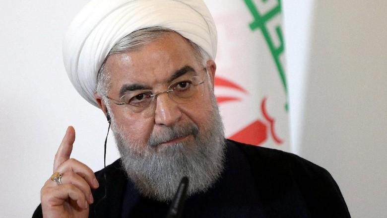 Situasi Memanas, Presiden Iran Tolak Berunding dengan AS
