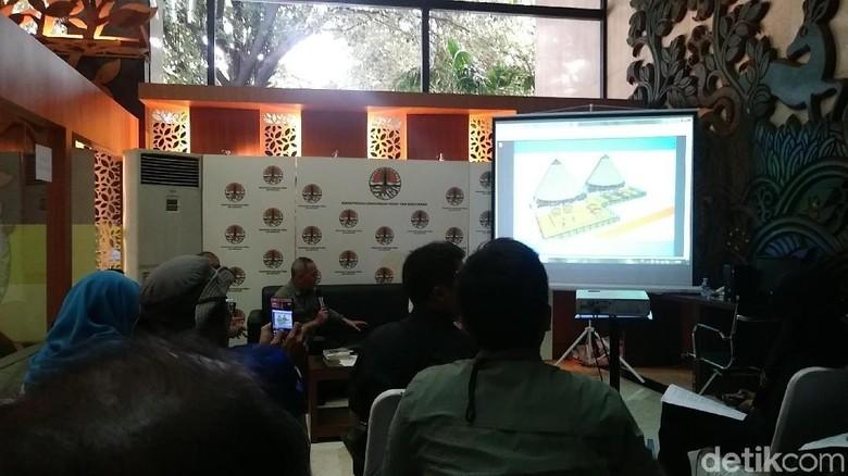 Suasana jumpa pers Taman Nasional Komodo di KLHK (Randy/detikTravel)