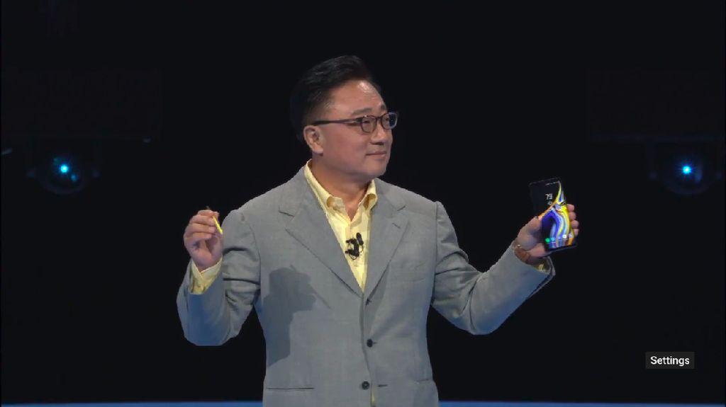 Galaxy Note 9 Resmi Meluncur