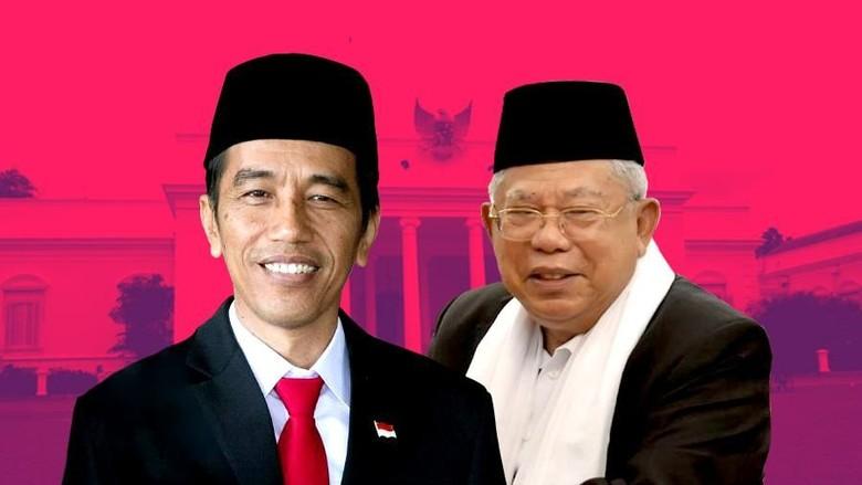 Hasil gambar untuk Jokowi-Ma'ruf amin
