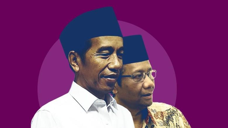 Terungkap! Detik-detik Mahfud Md Jadi Cawapres Jokowi