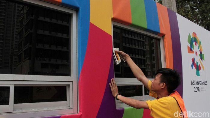 Penjualan Tiket opening Asian Games 2018 kacau balau (Rifkianto Nugroho/detikSport)