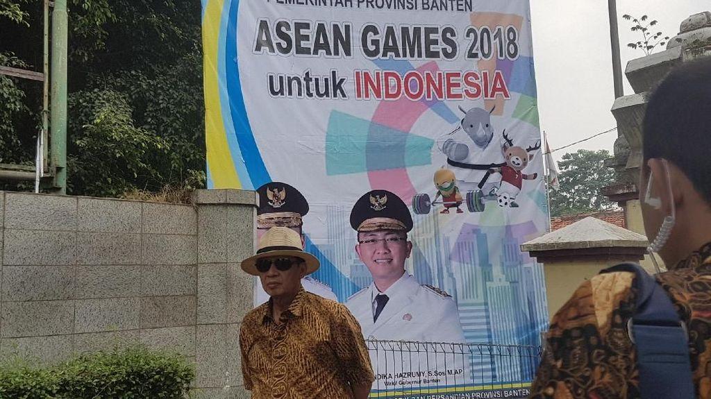 Gubernur Banten Copot Spanduk Asean Games!