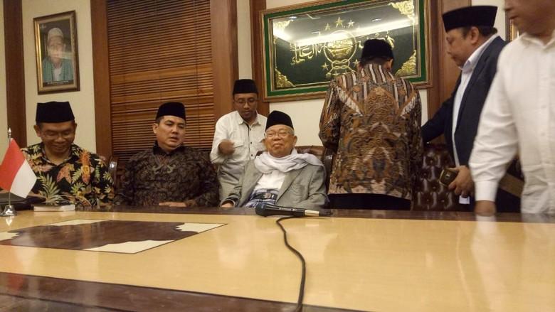 Maruf Amin: Saya akan Bantu Jokowi Jaga Keutuhan Bangsa