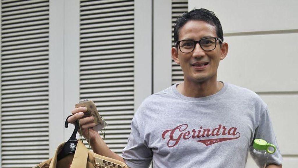 Gaya Cawapres Prabowo, Sandiaga Uno Setia Pakai Jam Tangan Rp 4 Juta