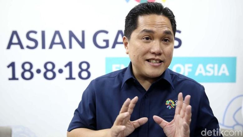 Kesibukan Erick Thohir Jadi Ketua Timses Diyakini Tak Ganggu Kerja KOI