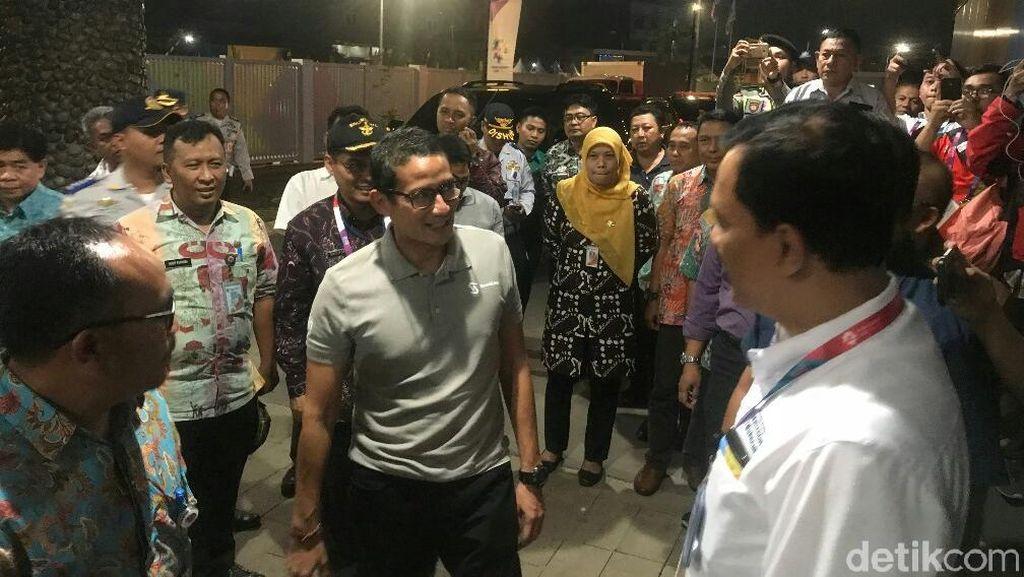 Tinjau Wisma Atlet, Sandiaga: Im Gonna Miss Jakarta