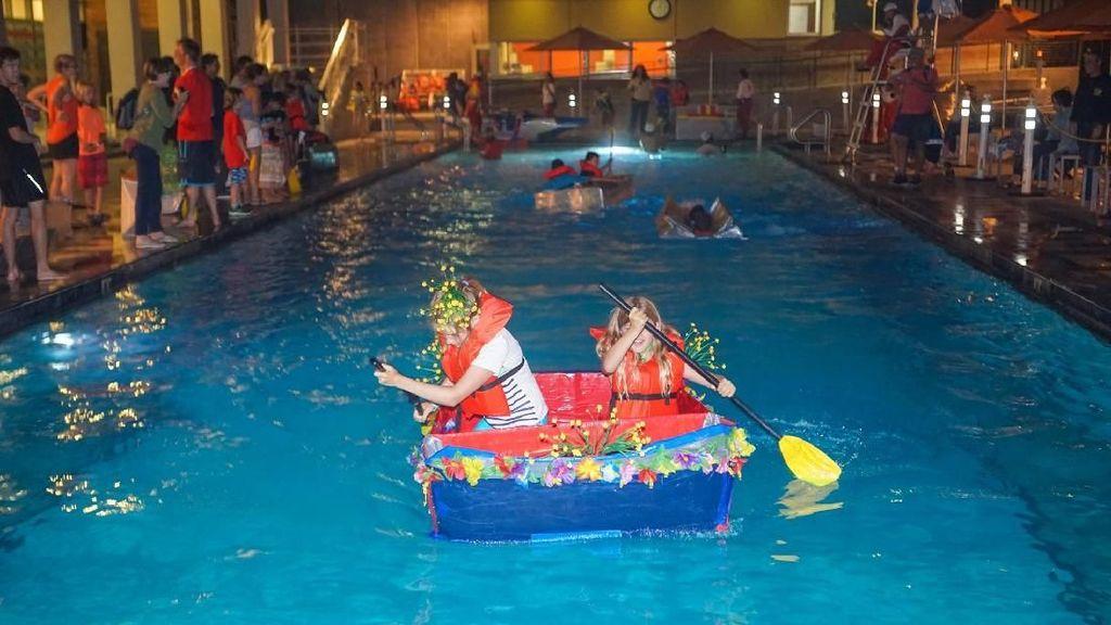 Unik dan Heboh, Balapan Perahu Kardus di Amerika