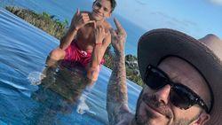 Liburan di Bali, Instagram Romeo Beckham Banjir Komentar