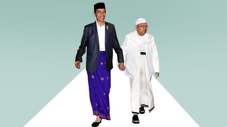 Maruf Amin Sempat Minta Jokowi Istikharah Tentukan Cawapres